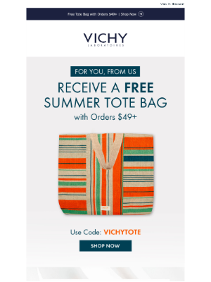 Free Gift with Purchase Ends Today