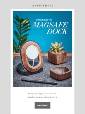 Grovemade - Introducing the MagSafe Dock