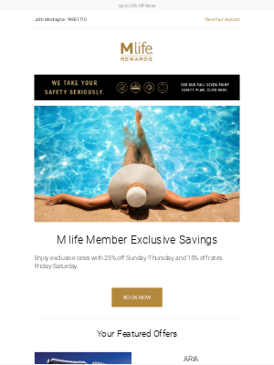 MGM Resorts - Last call to unlock these savings and experience endless poolside experiences!
