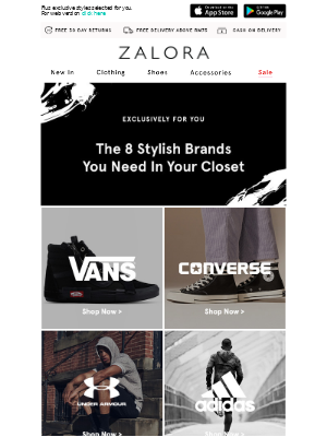 🔍 Search no more: Your top 8 brands are here!