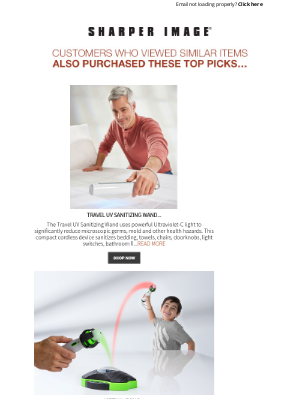 Sharper Image - Like what you saw? More items picked just for you.