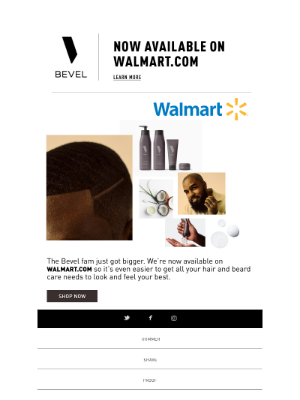 BEVEL - Officially on walmart.com 🛒