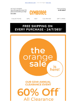 Gymboree - 🥰Snuggle up with 40-50% off everything + 60% off clearance!