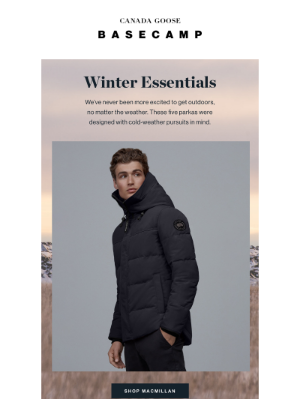 Canada Goose (CA) - Shop best-in-class parkas