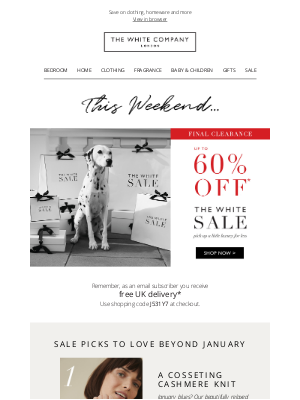 The White Company - Up to 60% off | Our top picks