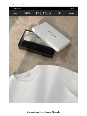 Reiss - Our Celebrated T-shirt