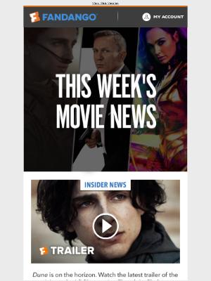 Fandango - This Week In Movie News