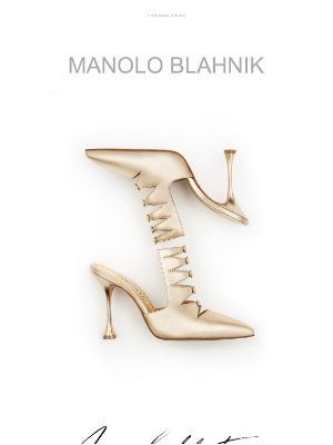 Manolo Blahnik - Introducing the New Collection