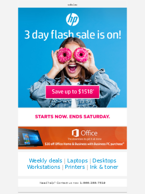 HP - Thursday FLASH coming at you!