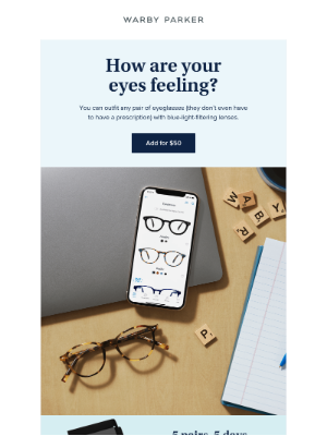 Warby Parker - Treat your eyes