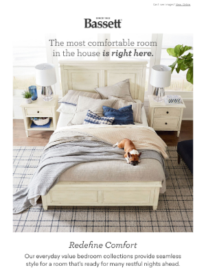 Bassett Furniture Industries - Ready for More Restful Nights? 😴