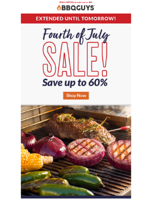 Don't miss our 4th of July Sale!