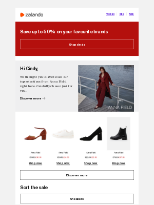 Zalando (UK) - Your selections from Anna Field