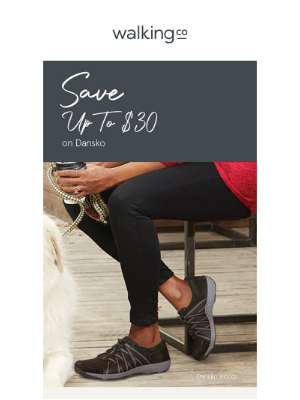 The Walking Company - Stop EVERYTHING…New Dansko Markdowns!
