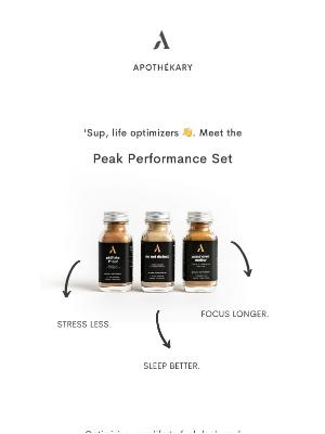 Apothekary - Optimize your life.