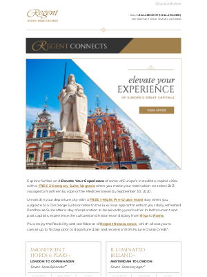 Regent Seven Seas Cruises - The Great Capitals of Europe