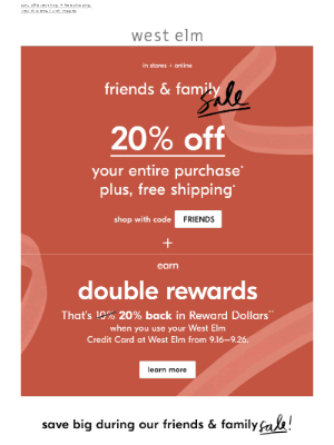 🔷 Starts NOW: Get the friends & family discount 🔷