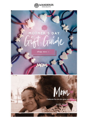 Warning: Gifts proven to bring on happy tears. Check out the Mother's Day Gift Guide.