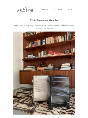 ARLO SKYE - Seen In Forbes, New York Times, Refinery29