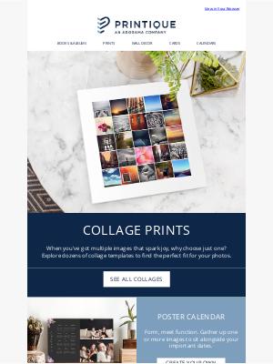 Printique - Custom Photo Collage Ideas