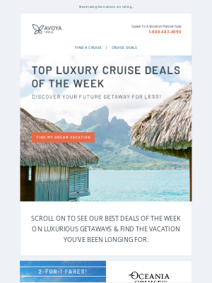 Paul Gauguin Cruises - HOT Luxury Cruise Savings: Up to $5,800 Off + Tons More!