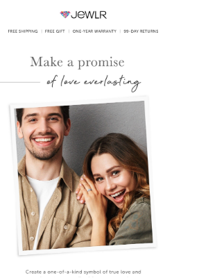 Design A Sparkling Symbol of Your Love Story