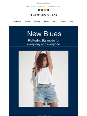 Hudson's Bay (CA) - Have you found the perfect pair of jeans?