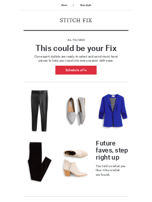 Stitch Fix - This could be your Fix