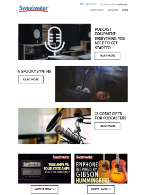 Sweetwater - Podcast Equipment: Everything You Need to Get Started