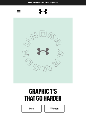 NEW graphic T's, same trusted performance