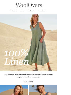 Your Favourite Linen Dresses Are Back!