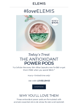 The Antioxidant Power Pods