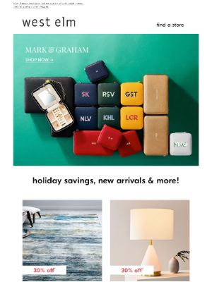⭐personalized gifts from Mark & Graham ⭐
