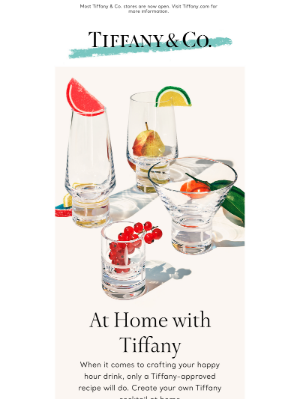 Craft a Tiffany Cocktail at Home