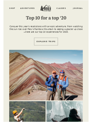 Ten Epic Trips for 2020
