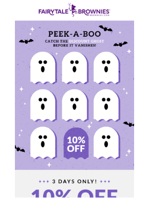 Fairytale Brownies - 3 DAYS ONLY – 10% off Halloween Gifts!