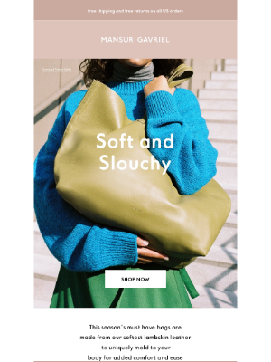 Mansur Gavriel - Soft and Slouchy