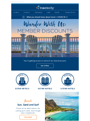 Travelocity - Members like you deserve something special