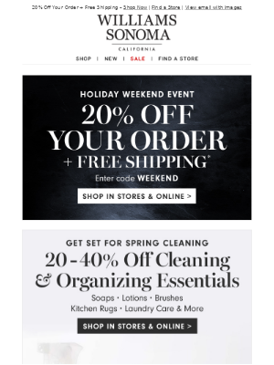 ☀️ Get Ready for Spring! Up to 40% Off Cleaning & Organizing Essentials
