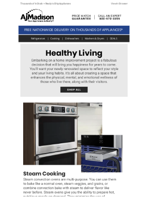 AJ Madison - New Year, New Home -- The Ultimate Healthy Living Guide