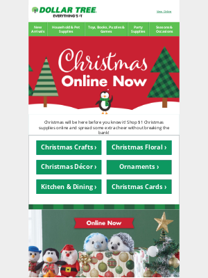 Dollar Tree - Our Bells are Jingling…