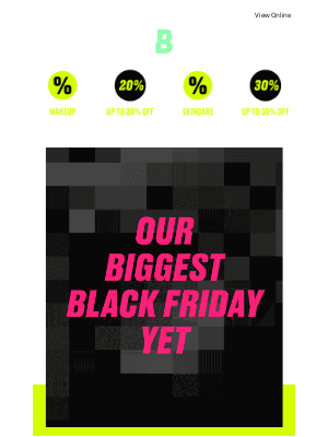 Beauty Bay (UK) - Shh.. Black Fridays come early! Up to 30% OFF!