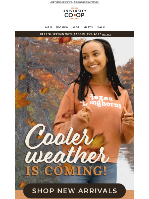 University Co-op - 🍂 Falling for These New Longhorn Arrivals!