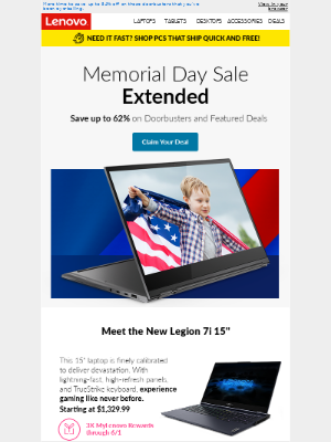 Miss the Memorial Day sale? We extended it! 👍