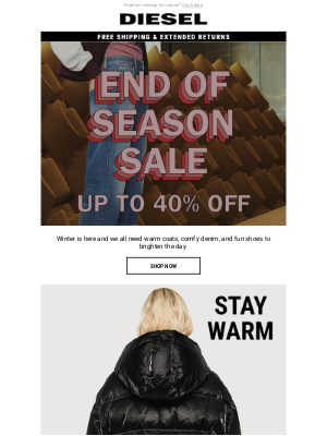Diesel - For YOU, D:CODER – Up to 40% Off – New Outerwear, Denim, and Winter Essentials