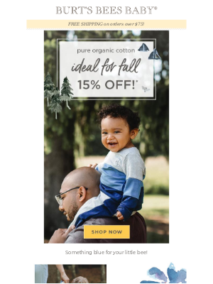 Fall is more fun when it's on sale! 15% off!