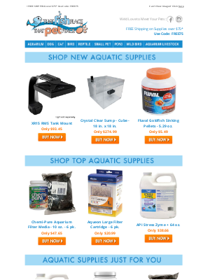 That Pet Place - Aquatic Supplies We Know You'll LOVE!