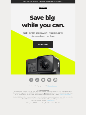 You can still save cash on HERO7 Black