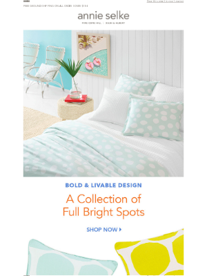 Annie Selke - Bright & Bold... our NEW Collection!