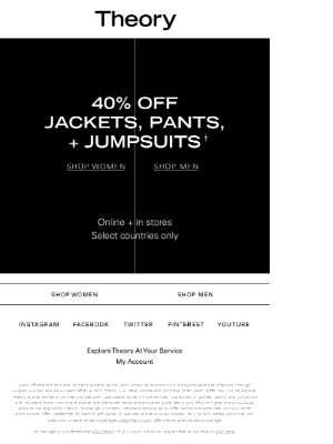 Just Added: 40% Off Jumpsuits